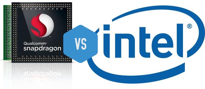 Qualcomm quiere sacar a Intel del mercado de notebooks y portátiles.