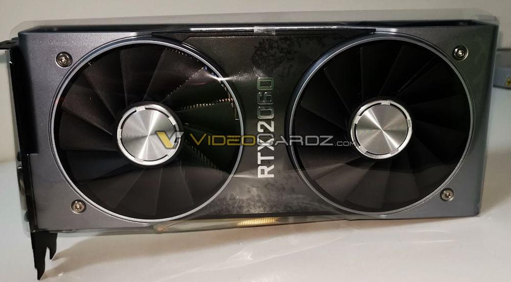 Primeras imágenes y fecha de lanzamiento de la Nvidia RTX 2060