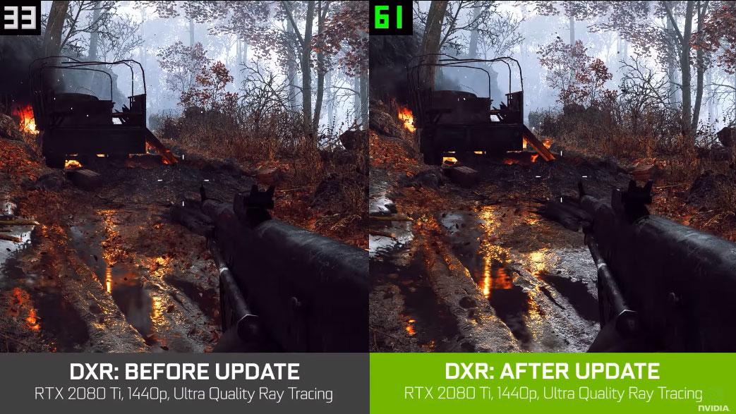 Battlefield V se actualiza y ejecuta Ray Tracing a 60 FPS en 1440p