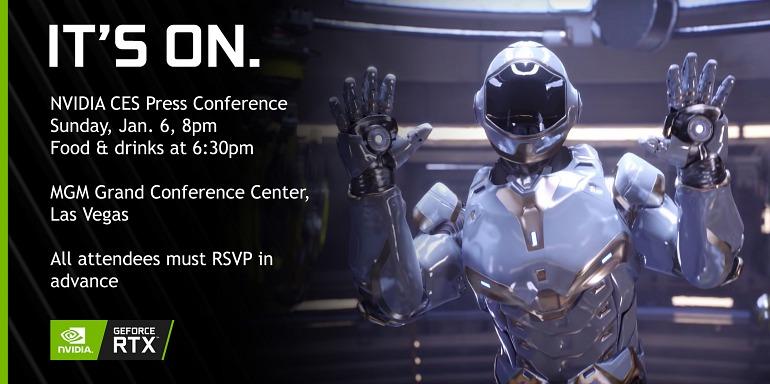 Nvidia transmitirá en directo su conferencia en el CES 2019