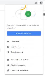 Cómo sincronizar tu cuenta de Google con Chrome