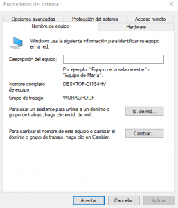 Cómo unirse a un dominio en Windows 10