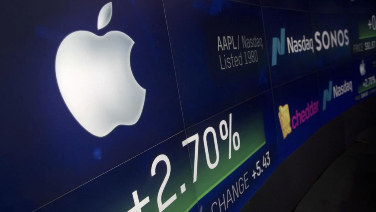 Apple vende menos Iphones que nunca y cae en bolsa