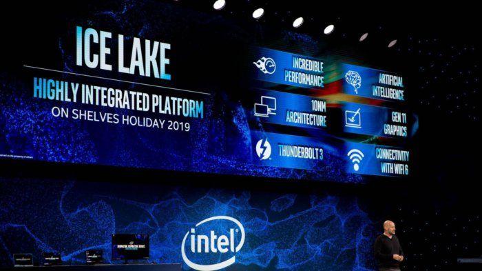 Intel repite de nuevo que los Ice Lake de 10 nm llegarán a finales de este año