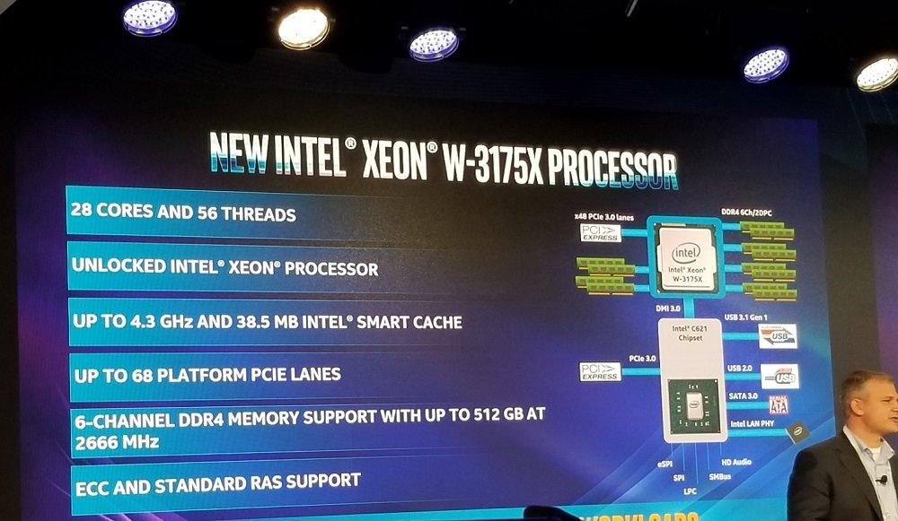 Intel pone a la venta el procesador Xeon W-3175X para 'workstations'