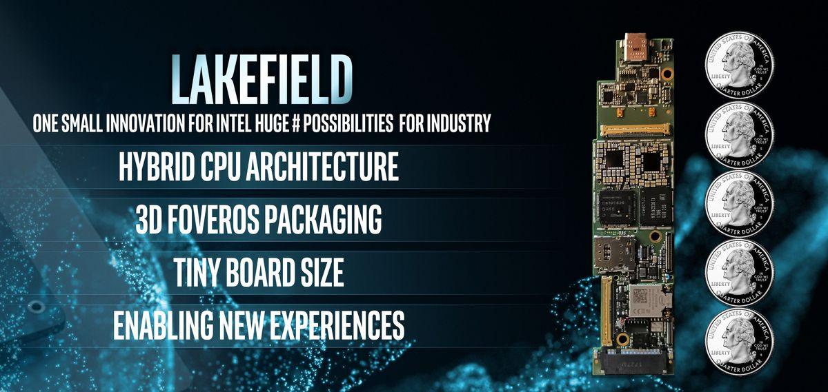 Intel presenta la plataforma Lakefield en el CES 2019