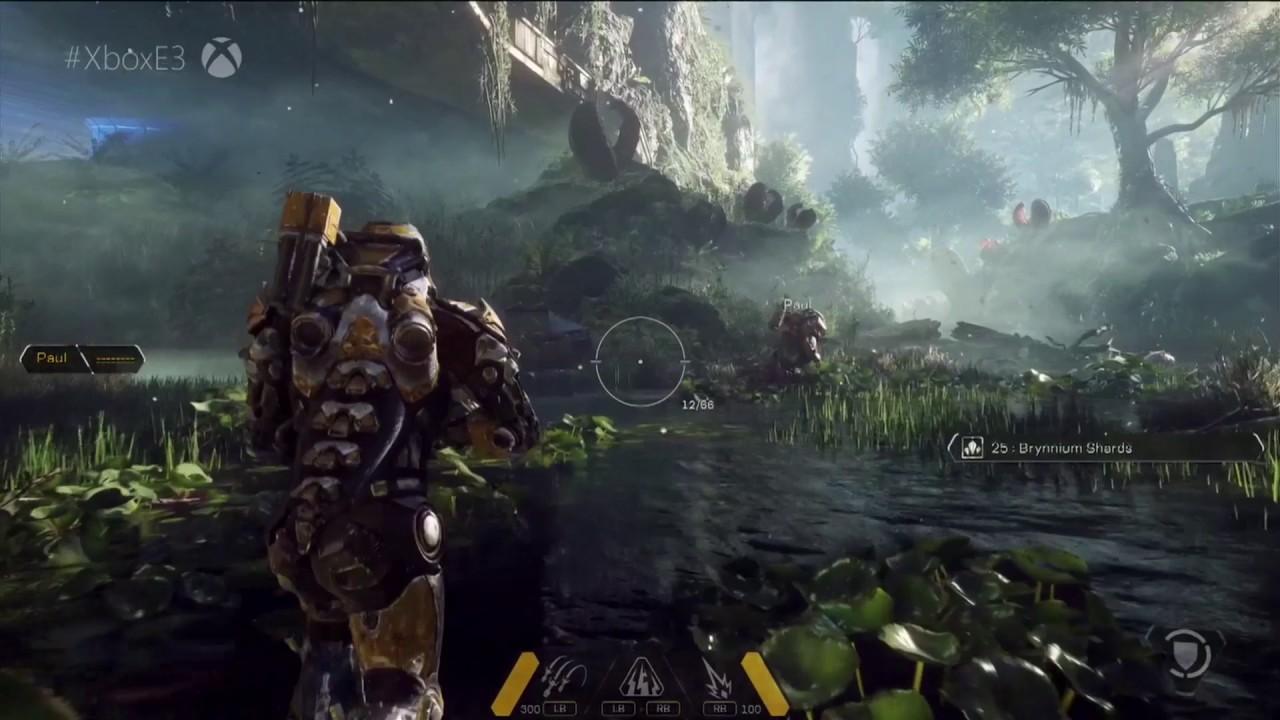 Anthem lo nuevo de Electronic Arts está muy mal optimizado para PC