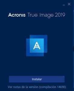 Cómo clonar discos con Acronis