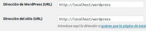 Cómo solucionar error de la URL de WordPress
