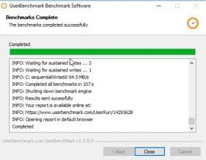 Herramienta de benchmark para comprobar el rendimiento de nuestro PC