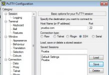 Cómo conectarse a un servidor SSH con Putty