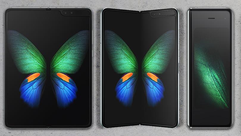 Así es el Samsung Galaxy Fold lo nuevo de Samsung