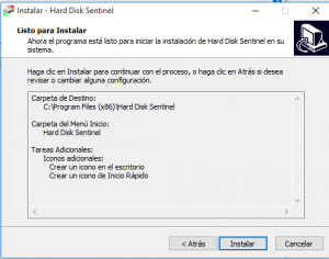 Cómo examinar un disco con Hard Disck Sentinel