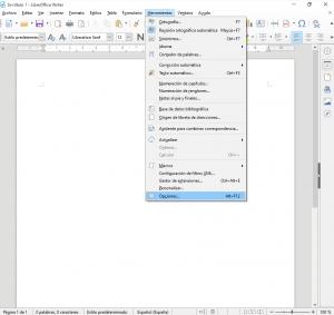 Cómo poner LibreOffice en Español