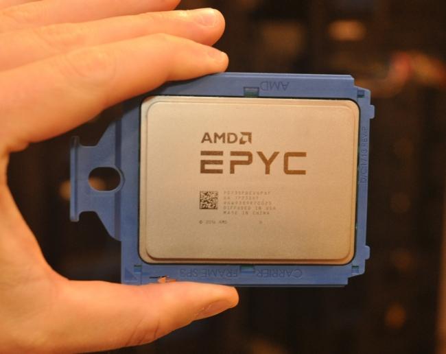 Los procesadores AMD EPYC provocaron pérdidas a lo largo de 2018