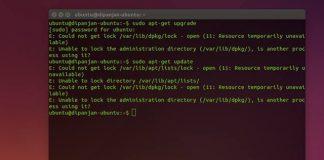Cómo solucionar el error: No se pudo bloquear /var/lib/dpkg/lock