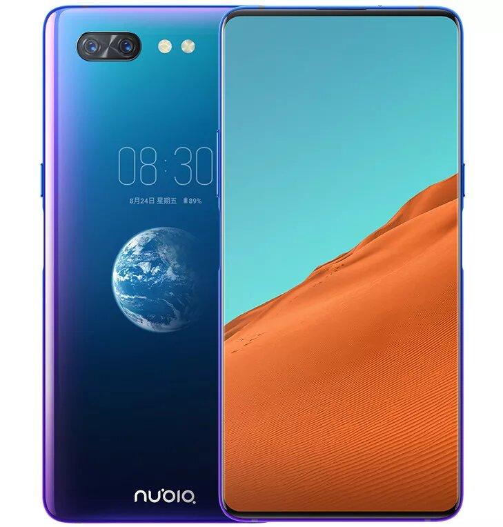 Nubia X, el teléfono con doble pantalla sin cámara delantera