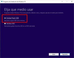Cómo hacer un USB booteable para instalar Windows 10