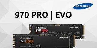 Samsung lanzará el SSD 970 Pro en capacidades de 2TB
