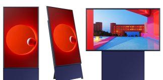 Samsung lanza la primera TV vertical
