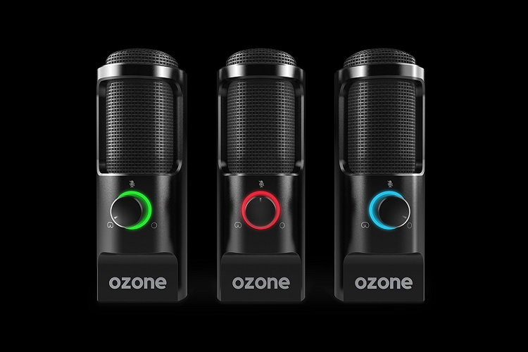 Ozone presenta un nuevo micrófono para streamers