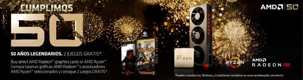 AMD regala The Division 2 y World War Z con la compra de sus GPUs