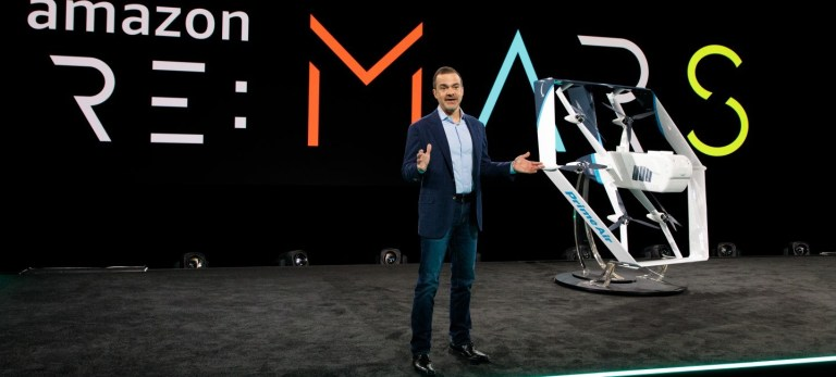 Amazon Prime Air presenta su 'drone' de reparto