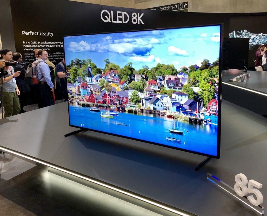 Samsung presenta un televisor 8K de 292 pulgadas
