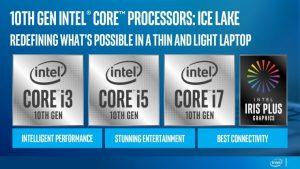 Intel lanza sus CPUs Ice Lake de 10nm para portátiles