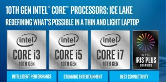 Intel lanza sus CPUs Ice Lake de 10nm para portátiles