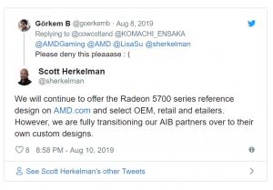 AMD seguirá fabricando las RX 5700 y las RX 5700 XT