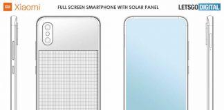 Xiaomi está trabajando en un smartphone con panel solar