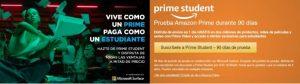 Nueva suscripción 'Amazon Prime Student' más económica para estudiantes