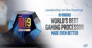 Los fabricantes de placas base ya dan soporte a los Intel Core i9-9900KS