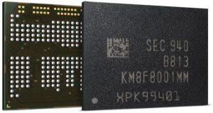 Empieza la producción en masa por parte de Samsung de chips LPDDR4X uMPC de 12GB