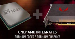 Los gráficos Vega 12 o Vega 15 podrían ser montados en las APUs AMD Ryzen 4000