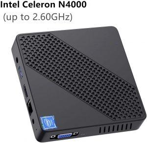 OFERTA: Mini PC Intel Celeron N4000, 4GB RAM y 64GB eMMC por menos de 128€