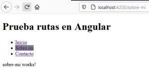 Cómo crear un sistema de rutas en Angular